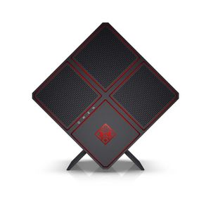 HP PC GAMER OMEN X - 900103nf - 16 Go de RAM - Windows 10- Intel Core i7-7700K- NVIDIA GTX 1080 - Disque dur 2 To + 256Go SSD