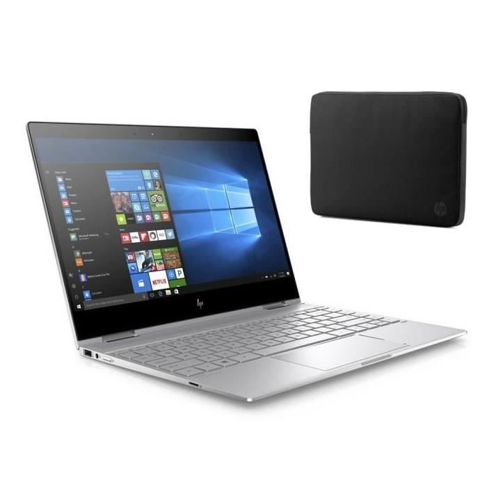 "HP Ultraportable Spectre x360- HP13ae003nf- 13.3"" FHD tactile -RAM 16Go- Windows 10- Intel Core i7-8550U -Intel UHD- Stockage 512GoNETBOOK"