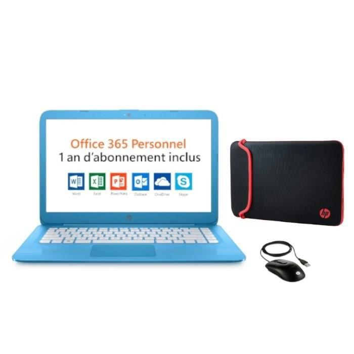 Pack HP PC Portable Stream 14-cb033nf - 14\