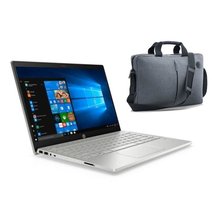 "Pack HP PC Portable 15-dw2003nf - 15,6""HD - i3-1005G1 - RAM 4Go - Stockage 128Go SSD + 1To HDD"