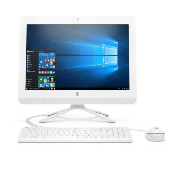 Ordinateur Tout-en-un - HP 20-c403nf - 19,5 pouces FHD - AMD E2 9000 - 4Go de RAM - Disque Dur 2To HDD - AMD Radeon R2 - Windows 10