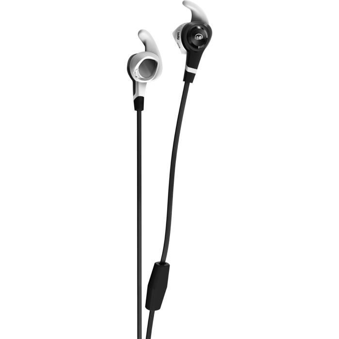 MONSTER ISPORT STRIVE V3 Ecouteurs Sport intra-auriculaires Noirs