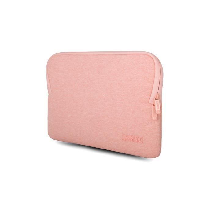 Urban Factory Housse de protection rose avec mémoire de forme pour Macbook Pro 15''