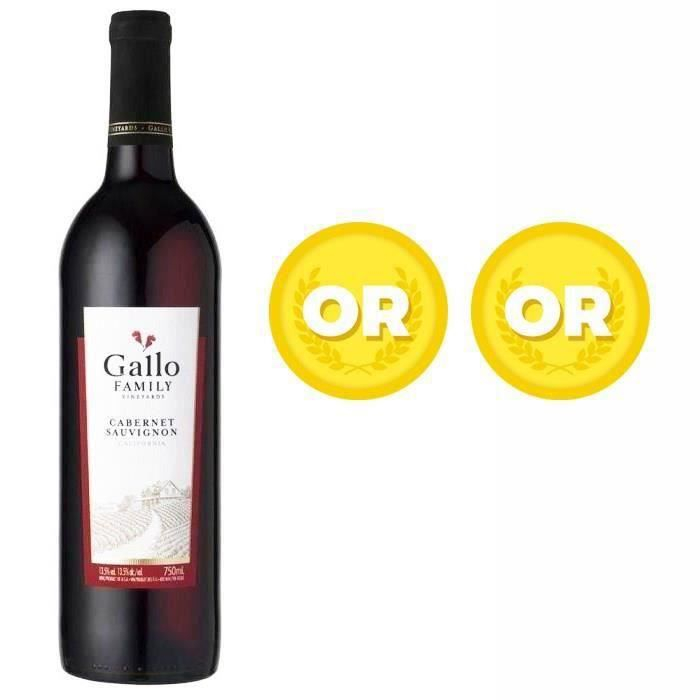 Gallo Cabernet Sauvignon - Vin rouge de Californie