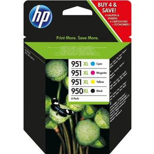 CARTOUCHE IMPRIMANTE HP 950XL + 951XL Cartouche d'encre Multipack (4) C