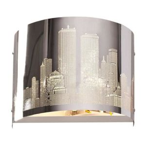APPLIQUE  NEW YORK Applique. Dimensions 23cmx15cm . Hauteur