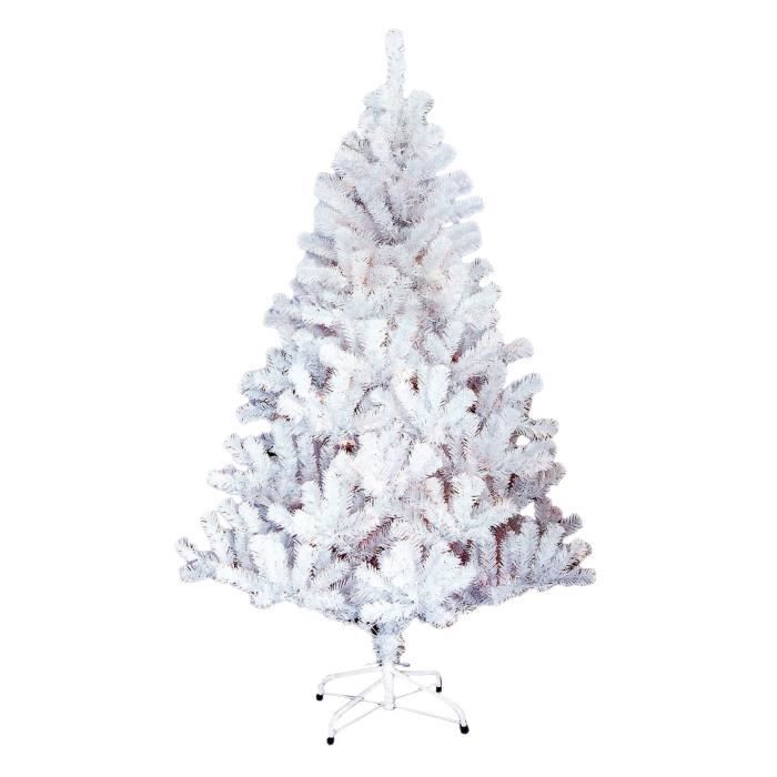 Artificiel Sapin de Noël blanc 150-180 Sapin Arbre de Noël Arbre Noël