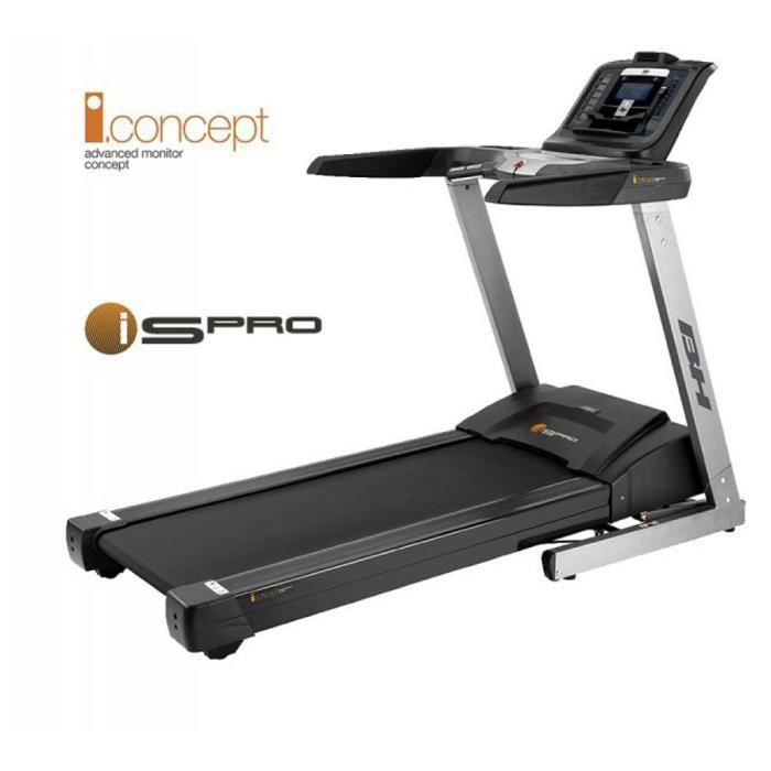 bh fitness tapis de course motoris 19 km h i spro prix pas cher cdiscount. Black Bedroom Furniture Sets. Home Design Ideas