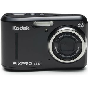 APPAREIL PHOTO COMPACT KODAK FZ43 Noir - Appareil photo Compact