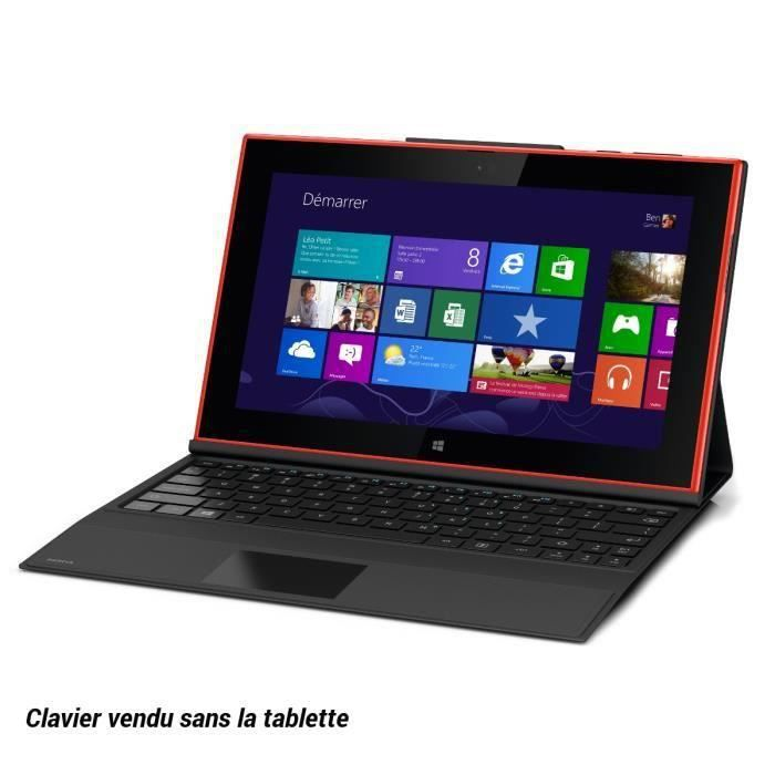 nokia clavier pour tablette lumia 2520 noir achat vente nokia clavier pour lumia2520. Black Bedroom Furniture Sets. Home Design Ideas