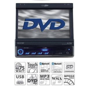 AUTORADIO CALIBER RDN 573BT Autoradio GPS DVD Bluetooth USB