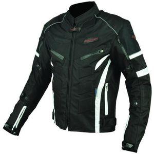 Moto Femmes Étanche Veste avec protections été hiver Textile Veste Neuf