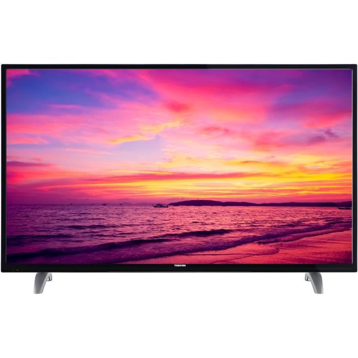 tv led lcd toshiba achat vente pas cher cdiscount. Black Bedroom Furniture Sets. Home Design Ideas