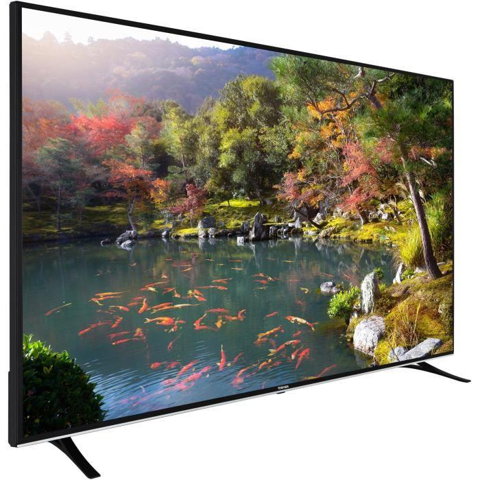 """Téléviseur LED TOSHIBA 75U6763DG TV LED 4K/UHD 190 cm (75"""") - SMA"""