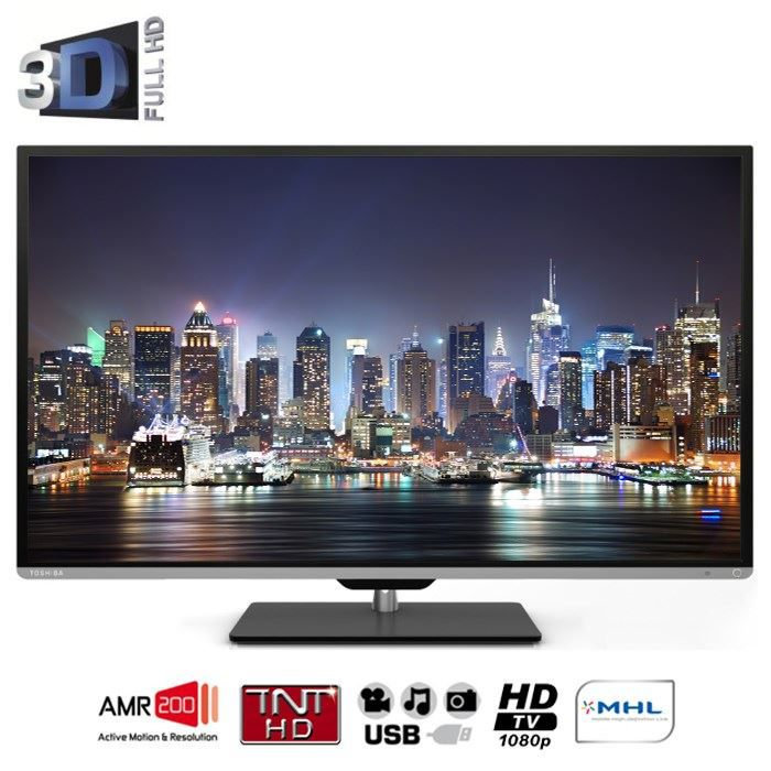 toshiba 40l5333dg tv 3d 102 cm achat vente t l viseur led toshiba 40l5333dg prix discount. Black Bedroom Furniture Sets. Home Design Ideas