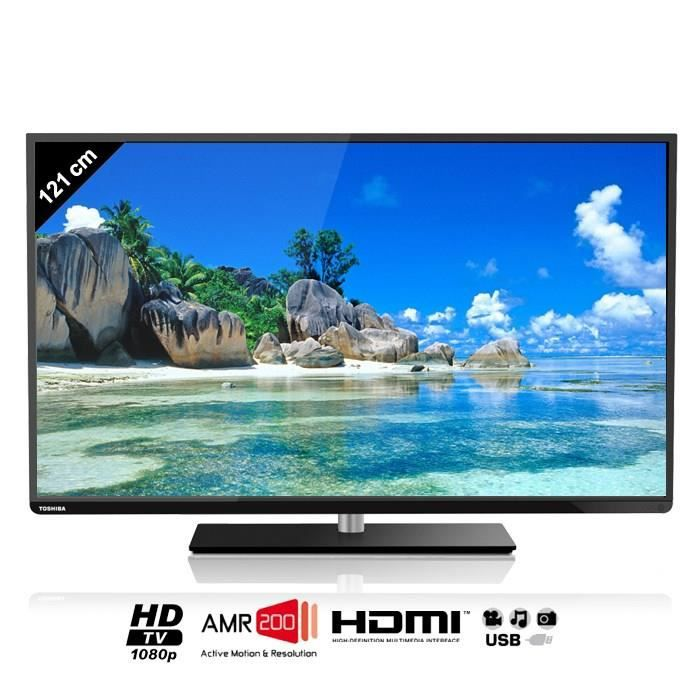 toshiba 48l1433dg tv led full hd 121cm t l viseur led prix pas cher cdiscount. Black Bedroom Furniture Sets. Home Design Ideas