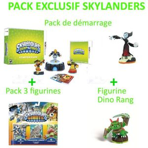 JEUX 3DS SKYLANDERS - PACK DE DEMARRAGE+FIGURINES