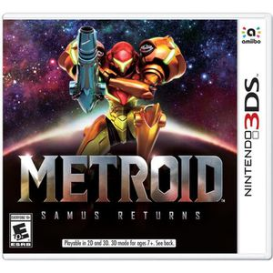 JEU 3DS Metroid Samus Returns Jeu 3DS