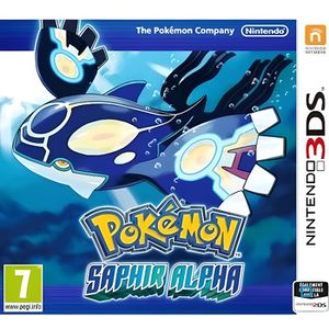 Pokemon Saphir Alpha 3DS