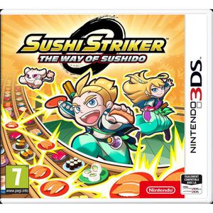 JEU 3DS NOUVEAUTÉ Sushi Stricker The Way of Sushido Nintendo 3DS