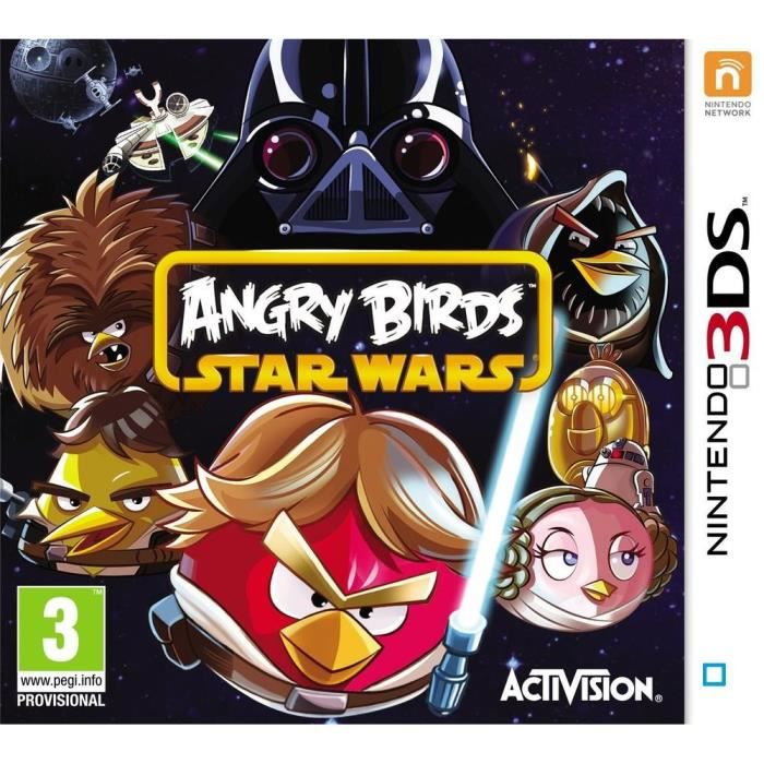 [Multi] Angry Birds Star Wars [3DS]