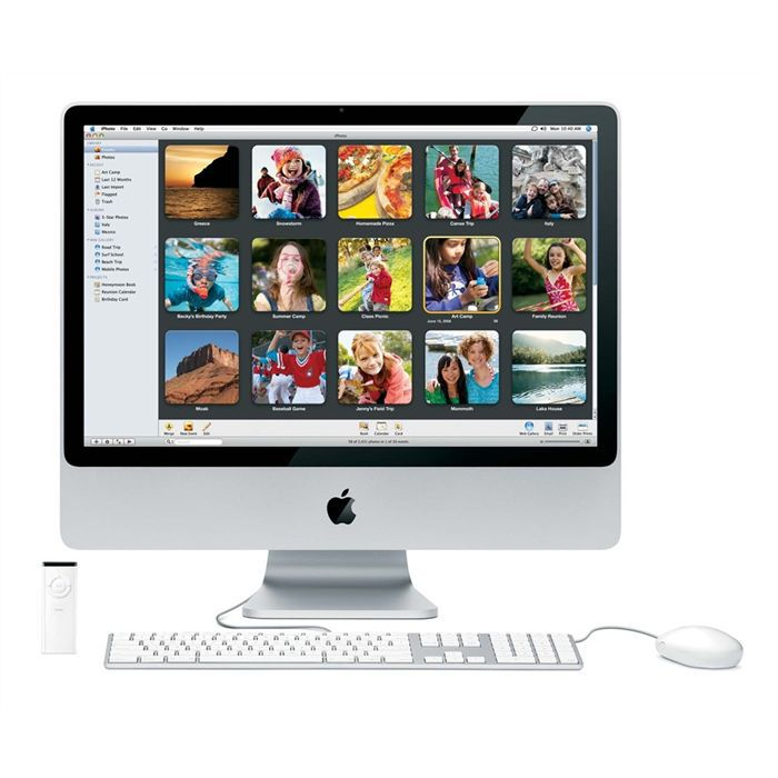 apple imac mc413f a achat vente ordinateur tout en un apple imac mc413f a cdiscount. Black Bedroom Furniture Sets. Home Design Ideas