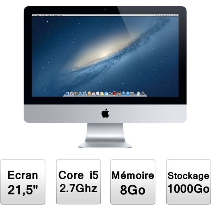 apple imac 21 5 md093f a prix pas cher cdiscount. Black Bedroom Furniture Sets. Home Design Ideas