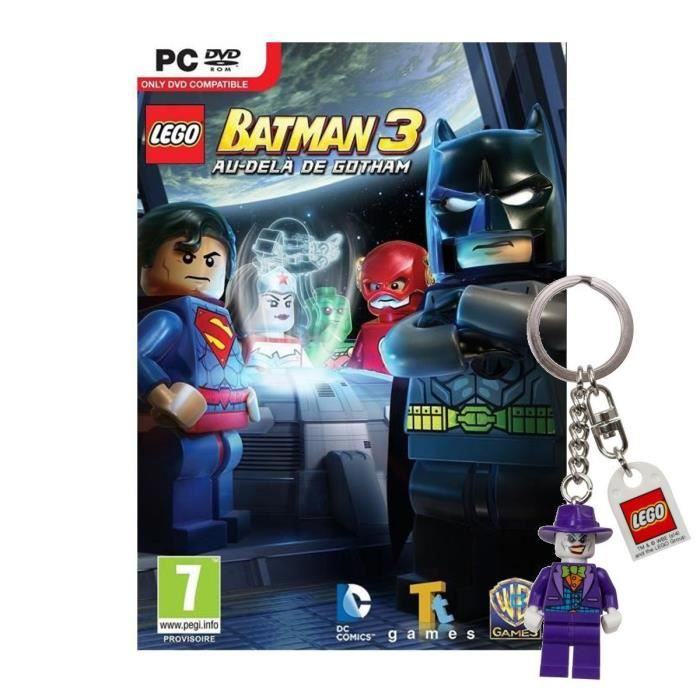 lego batman 3 au del de gotham jeu ps3 porte cl achat vente jeu ps3 nouveaut lego batman. Black Bedroom Furniture Sets. Home Design Ideas