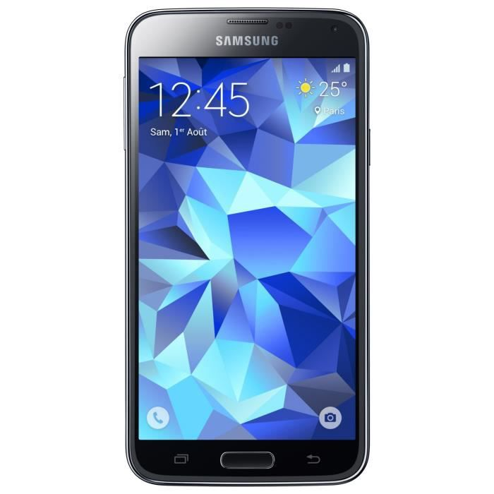 samsung galaxy s5 neo noir achat smartphone pas cher. Black Bedroom Furniture Sets. Home Design Ideas