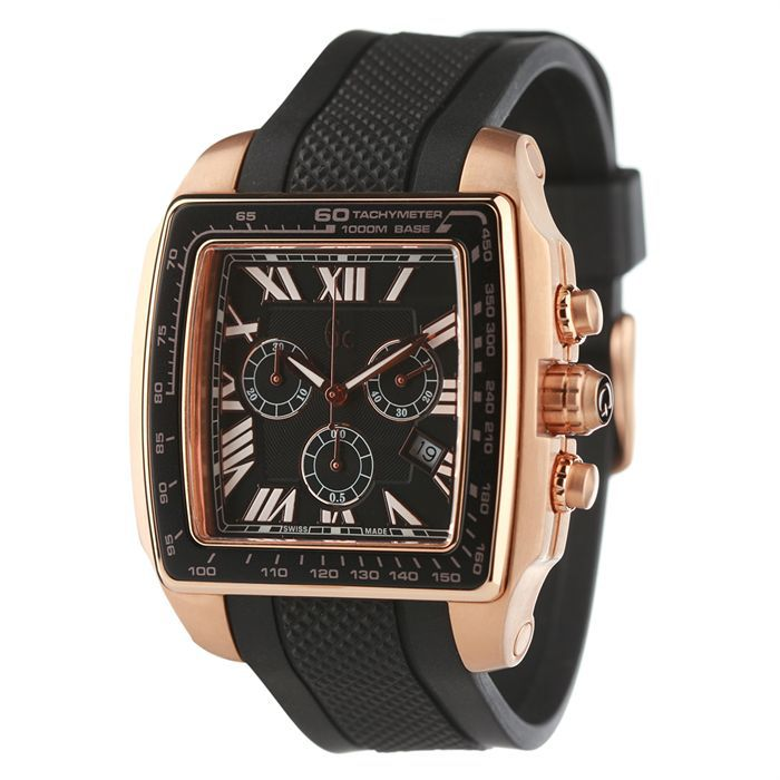 guess collection montre chronographe homme achat vente montre analogique cdiscount. Black Bedroom Furniture Sets. Home Design Ideas