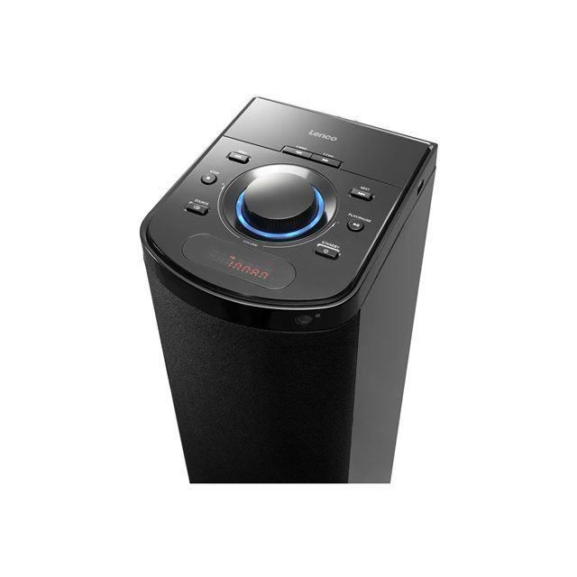 lenco btt 1 enceinte colonne bluetooth usb. Black Bedroom Furniture Sets. Home Design Ideas