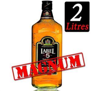 WHISKY BOURBON SCOTCH Label 5 Scotch Whisky 2L