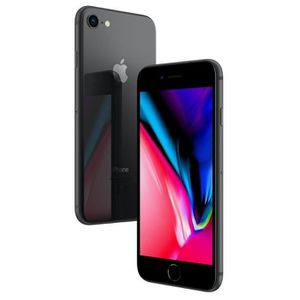 SMARTPHONE APPLE iPhone 8 gris sidéral 64Go