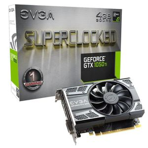 CARTE GRAPHIQUE INTERNE EVGA Carte Graphique GeForce GTX 1050 Ti SC GAMING