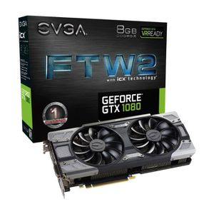 CARTE GRAPHIQUE INTERNE EVGA Carte Graphique GeForce GTX 1080 SC2 GAMING