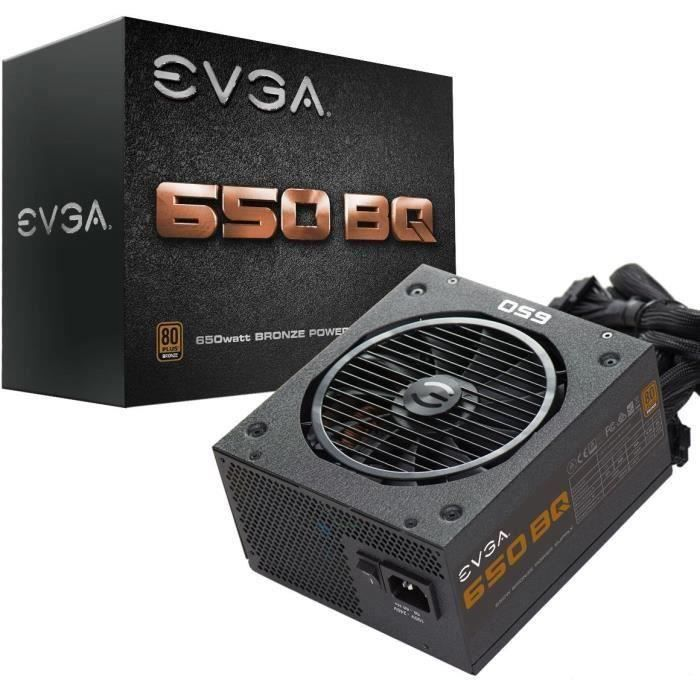 ALIMENTATION INTERNE EVGA Alimentation PC 110-BQ-0650-V2 650W BRONZE