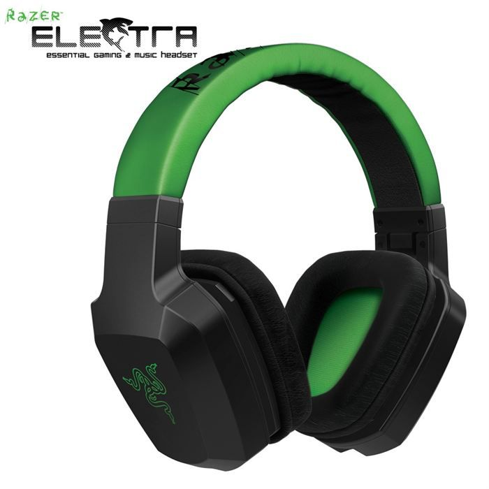 razer electra casque audio prix pas cher cdiscount. Black Bedroom Furniture Sets. Home Design Ideas