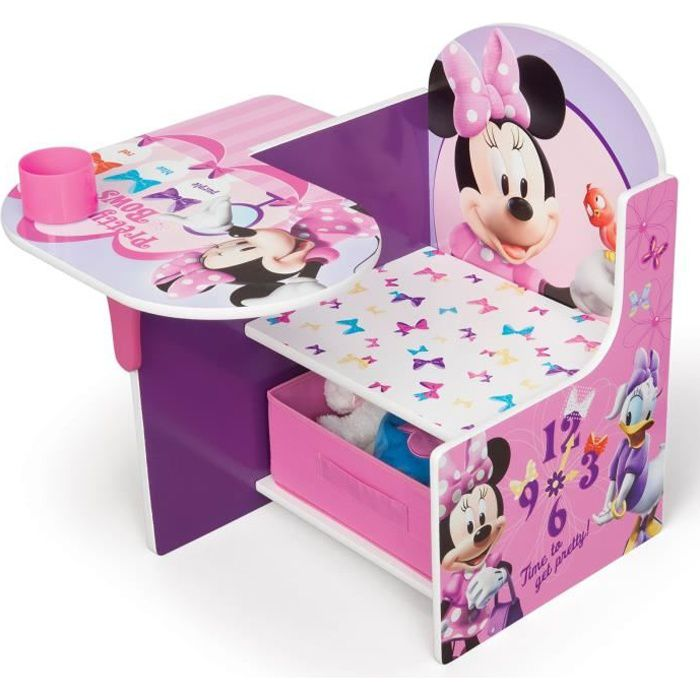 minnie pupitre enfant achat vente bureau b b enfant cdiscount. Black Bedroom Furniture Sets. Home Design Ideas