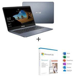 ORDINATEUR PORTABLE ASUS PC portable Ultrabook E406MA-EK065T-14' Full