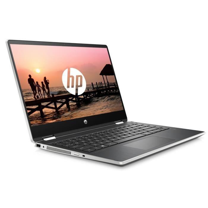 """ORDINATEUR PORTABLE HP PC Ultrabook Pavilion x360 14-dh0003nf  14"""" HD"""
