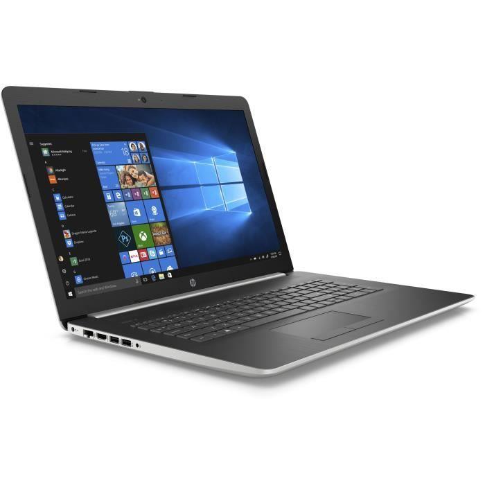 "ORDINATEUR PORTABLE HP PC Portable 17-by0043nf - 17,3"" HD+ - Core i5-7"