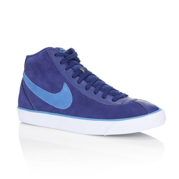 official photos dce29 a8e20 BASKET NIKE Baskets Cuir Bruin Mid Homme