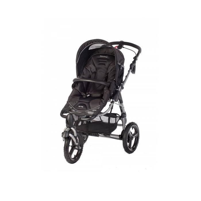 Destockage bebe confort poussette tout terrain high trek black grey poussette au meilleur - Hamac poussette high trek ...