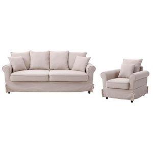 en fauteuil et fauteuil Canape Canape tissu en et tissu PwkXiuTOZl