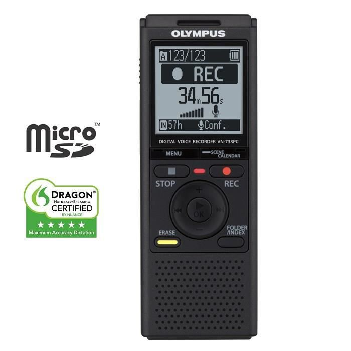 olympus vn733pc dictaphone dictaphone magnetophone. Black Bedroom Furniture Sets. Home Design Ideas