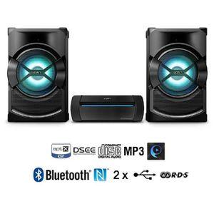 CHAINE HI-FI SONY SHAKEX3 Chaine HiFi Bluetooth aptX 2200W