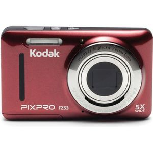 APPAREIL PHOTO COMPACT KODAK - FZ53-RD - Appareil photo compact - Rouge
