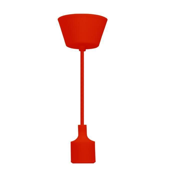 LUSTRE ET SUSPENSION ETIGER Plafonnier rouge Ring