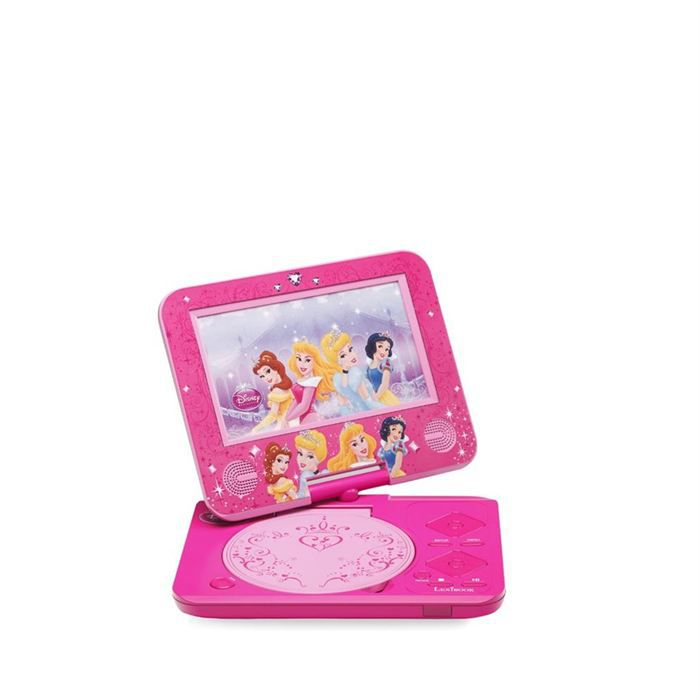 lecteur dvd portable disney princess lecteur dvd portable prix pas cher cdiscount. Black Bedroom Furniture Sets. Home Design Ideas