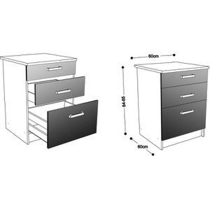 meuble d angle cuisine achat vente pas cher. Black Bedroom Furniture Sets. Home Design Ideas